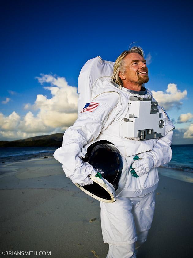 Portrait of Richard Branson