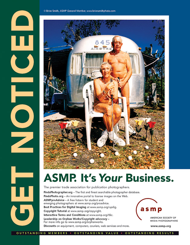Brian Smith featured in ASMP Get Noticed Campaign