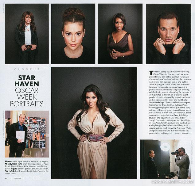 Miami Portrait Photographer Brian Smith featured in American Photo magazine