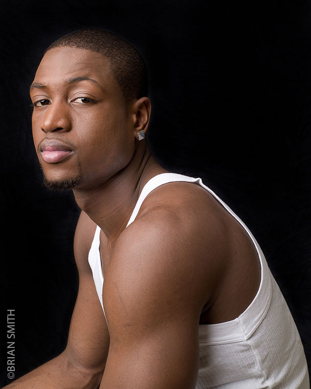 Miami photographer sports photography and portraits of atletes Dwyane Wade