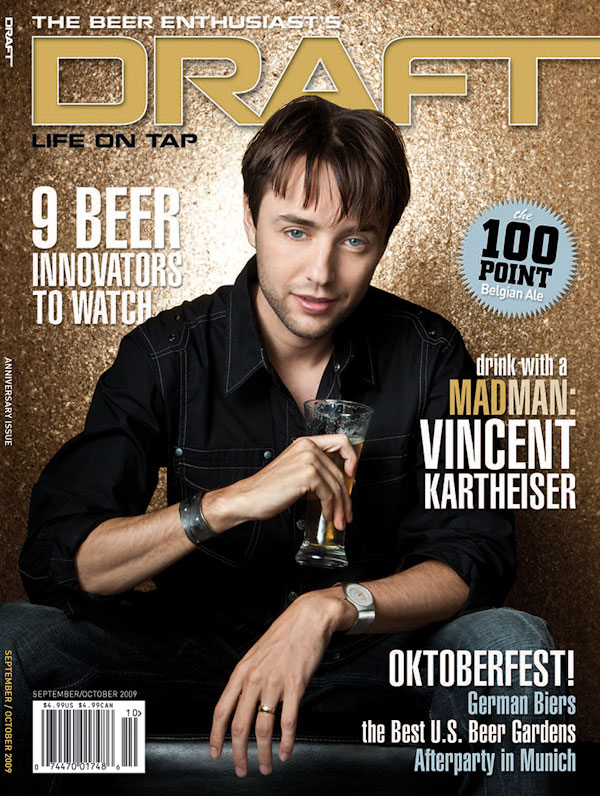 editorial photography of Vincent Kartheiser magazine cover photographs