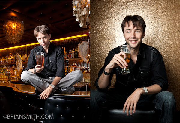 celebrity portrait photography of Vincent Kartheiser