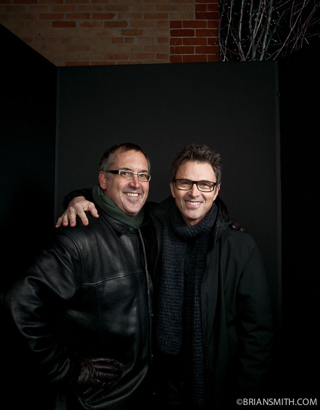 Brian Smith and Tim Daly photographed at the Sundance Film Festival