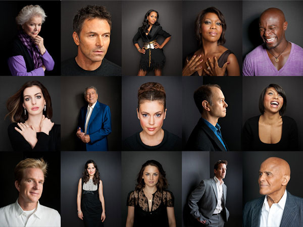 Celebrity Portrait Photography by Brian Smith