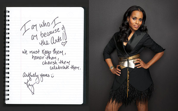 celebrity portrait photography of actress Kerry Washington