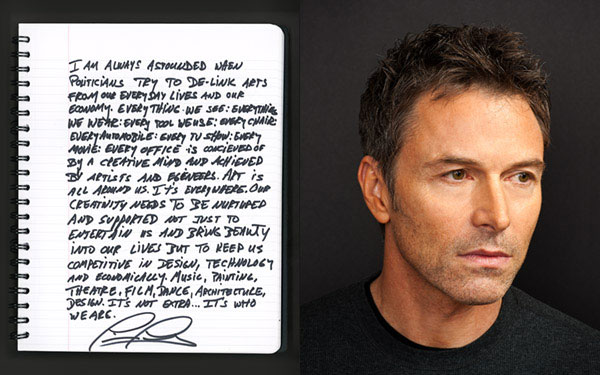 celebrity portrait photography of actor Tim Daly