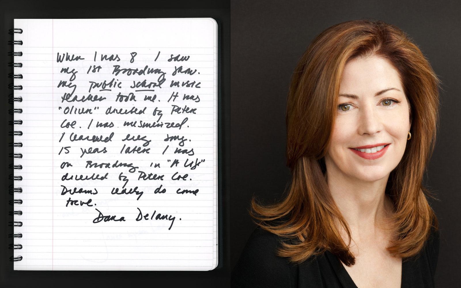celebrity portrait photography of actress Dana Delany