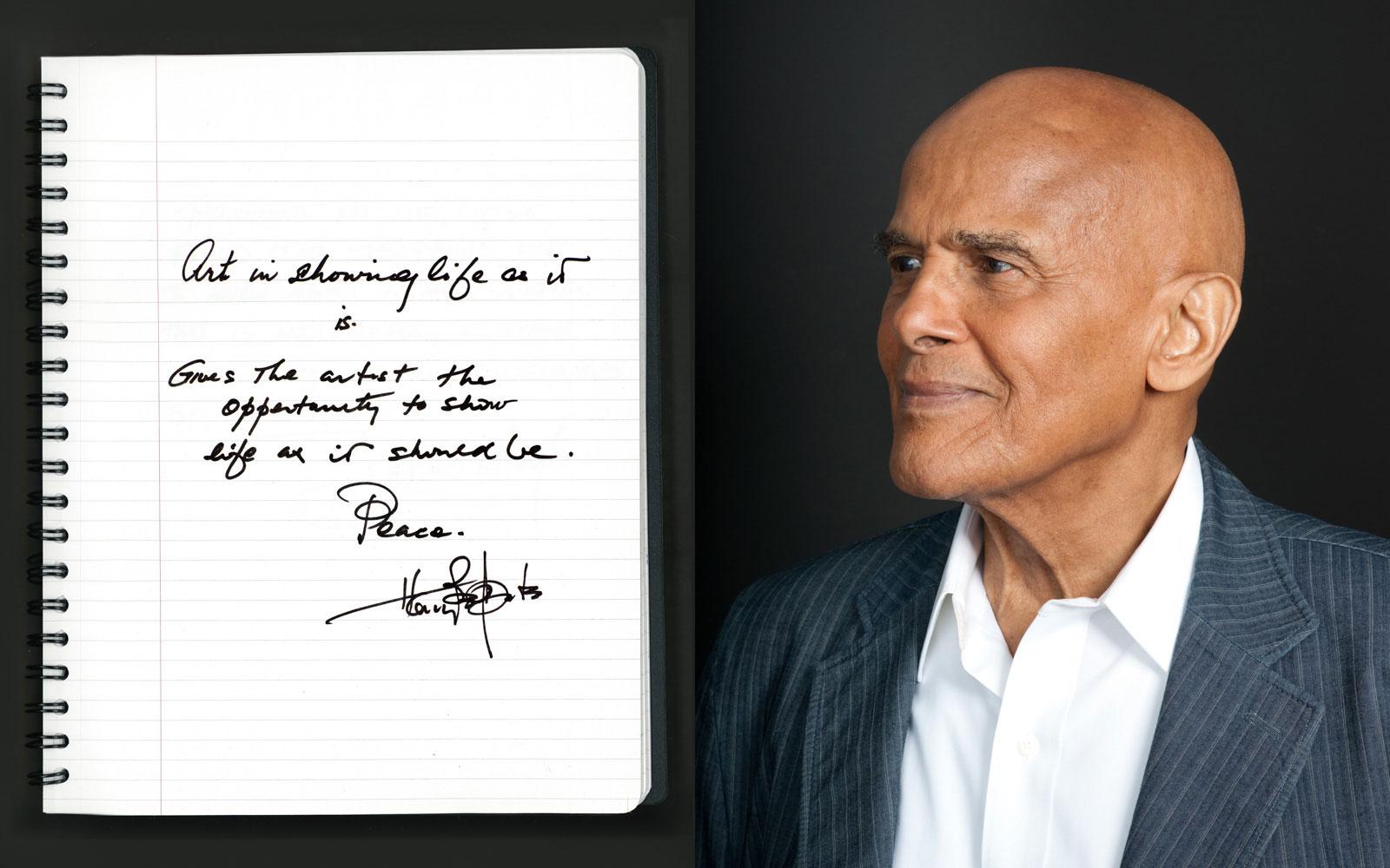 celebrity portrait photography of actor Harry Belafonte_Belafonte