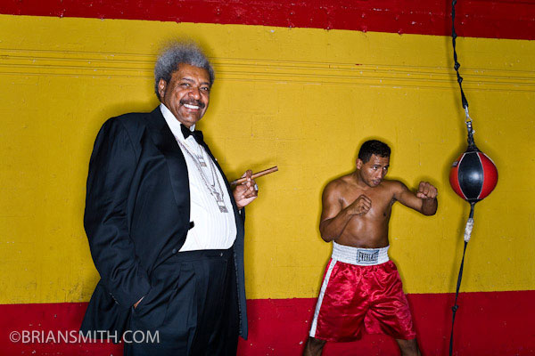 Miami photographers Brian Smith portrait photography of Don King