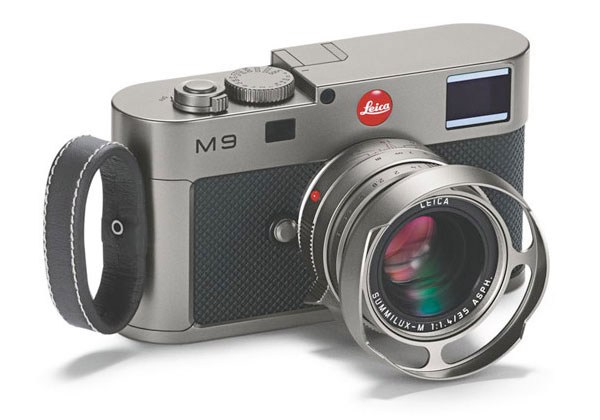 Leica M9 Titanium Camera for wealthy photographers