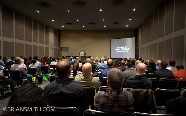 Miami Portrait Photographer Brian Smith speaks on Secrets of Great Portrait Photography at PDN PhotoPlus Expo 2010
