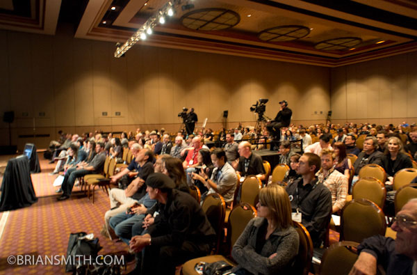 Speaking at photography trade shows