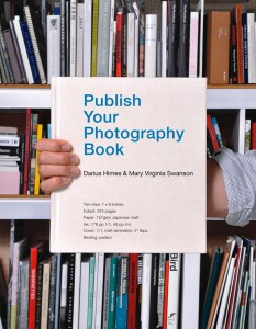Photobook with tips to publishing photography books