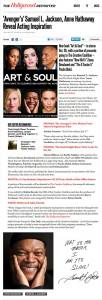 The Holywood Reporter Art & Soul celebrity portrait photography