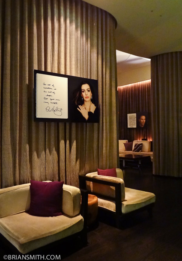 W Hotel celebrity portrait photography exhibit Los Angeles