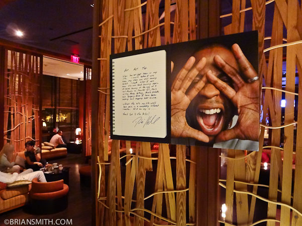 celebrity portrait photography exhibit at W Hotel Los Angeles