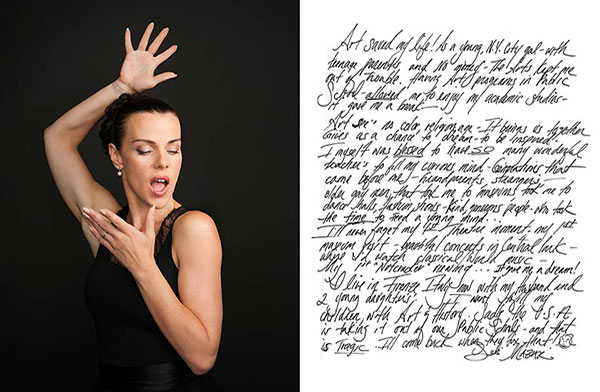 Celebrity portrait photography of Debi Mazar
