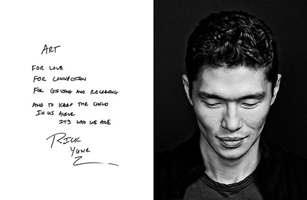 Celebrity portrait photography of Rick Yune