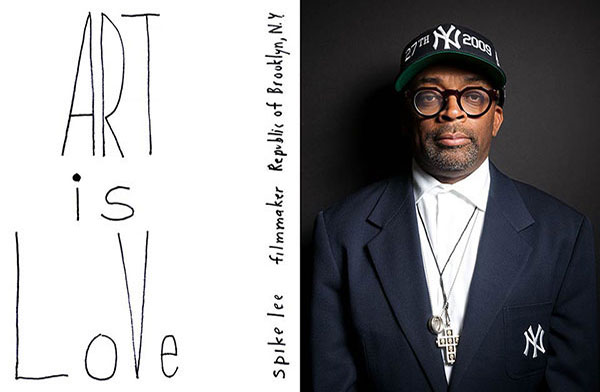 Celebrity portrait photography of Spike Lee