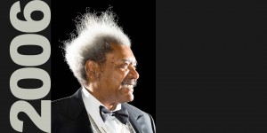 Don King photographed in Miami for the cover Forbes Magazine