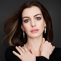 Portrait of Actress Anne Hathaway