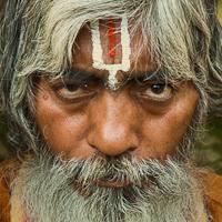 Nepal Holi Man in Kathmandu