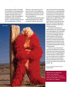 Brian Smith profiled in Professional Photographer magazine