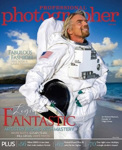 Brian Smith cover profile in Professional Photographer magazine