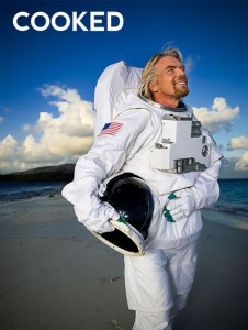 Processed Image of Richard Branson by Brian Smith