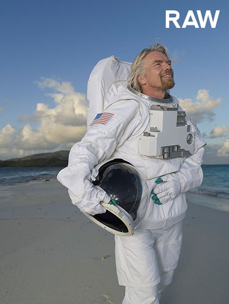RAW Image of Richard Branson by Brian Smith