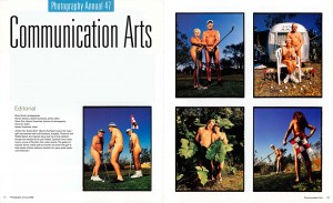 Brian Smith winning photographs in Communication Arts Photography Annual