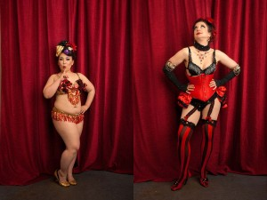 Burlesque Dancer Cherry Typhoon