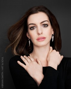 Actress Anne Hathaway photographed for Art & Soul
