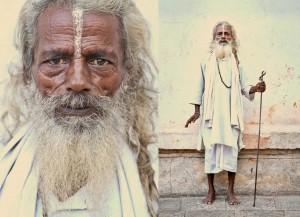 Portraits of Kathmandu, Nepal Holi Men