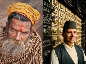 Portraits of Kathmandu, Nepa