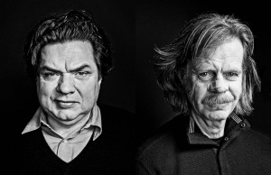 celebrity portrait photography of Oliver Platt and William H Macy