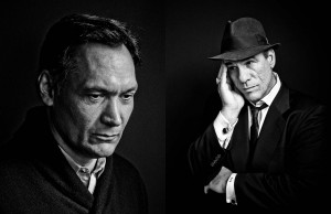 celebrity portrait photography of Jimmy Smits and Robert Davi