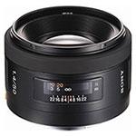 Sony 50 F1.4 lens