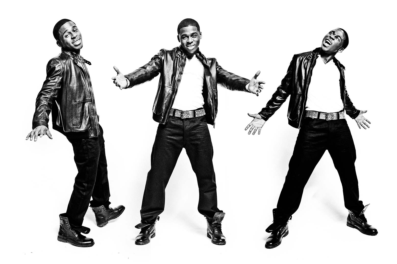 Portrait of X Factor Finalist Marcus Canty
