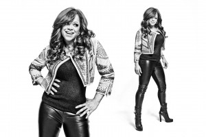 The X Factor Finalist Stacy Francis photographed by Brian Smith