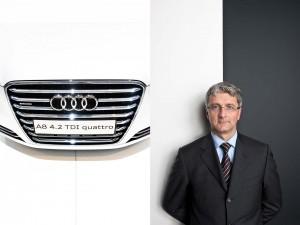Executive Portrait of Rupert Stadler, CEO of AUDI