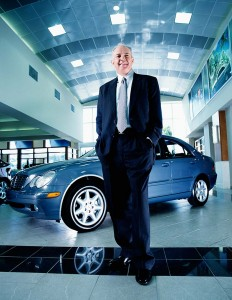 Corporate photography of Auto Nation CEO Mike Jackson