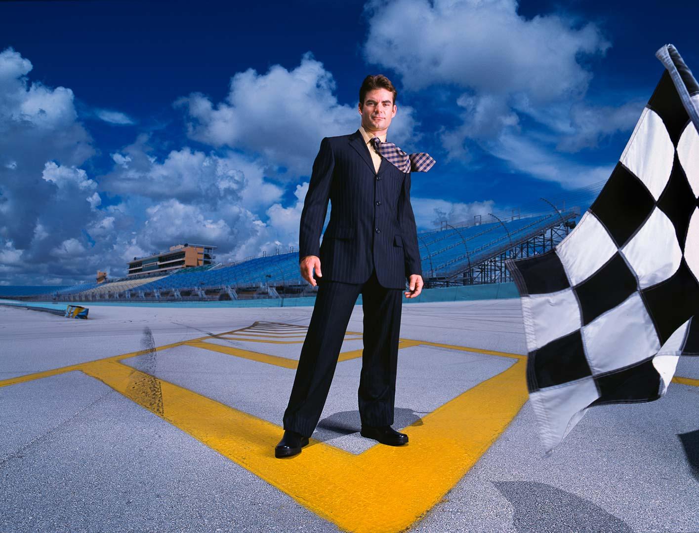 Portrait of Jeff Gordon