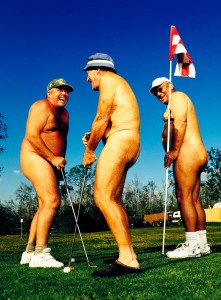 Nude Golf photographed by Brian Smith for Sports Illustrated