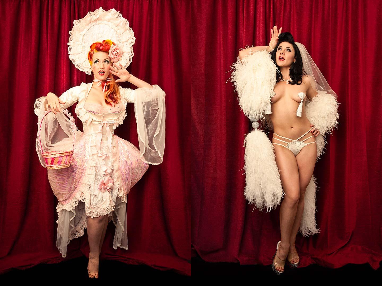 Portraits of Burlesque Dancers