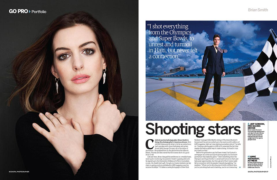 Brian Smith featured in Digital Photographer (UK)