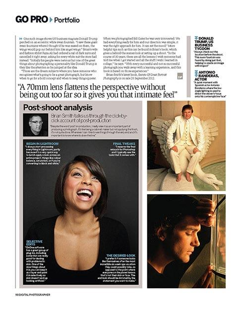 Miami photographer Brian Smith profiled in Digital Photographer magazine