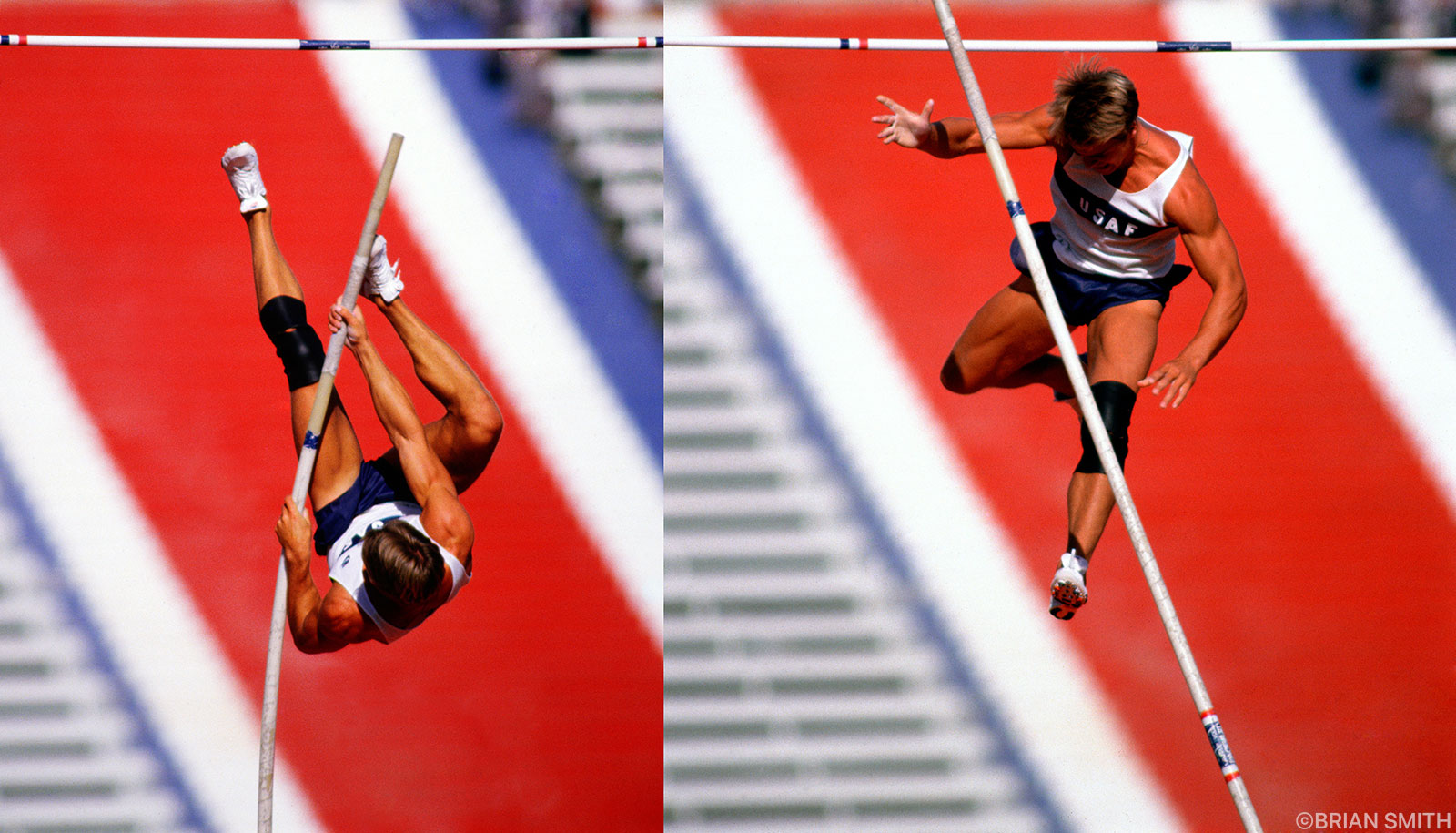 Olympic Pole Vault Trials sports photography by Brian Smith
