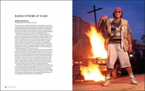 Director Robert Rodriguez photographed at dusk for Premiere magazine