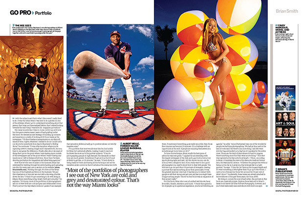 Digital Photographer magazine profile of Miami photographer Brian Smith